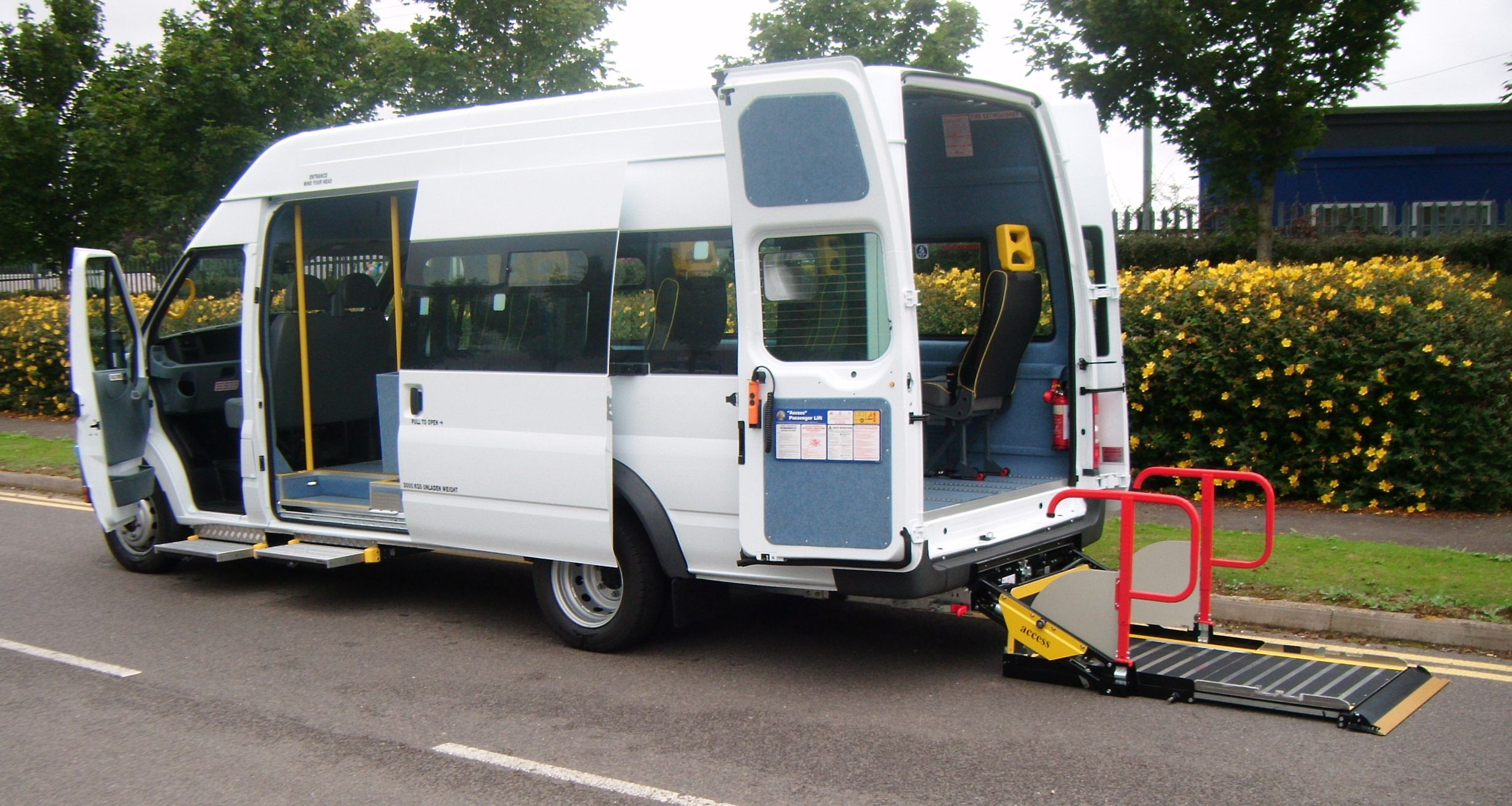 Ford Transit Accessible Minibus Conversion For Sale Hythe Kent